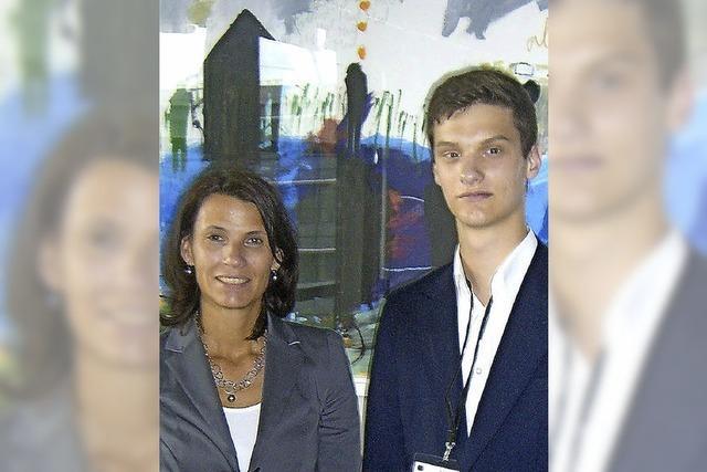 Mit 16 Jahren im Bundestag