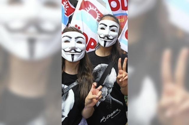 Die getwitterte Revolution in der Türkei