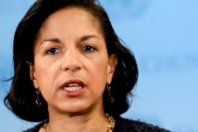Obama macht Susan Rice zur Sicherheitsberaterin