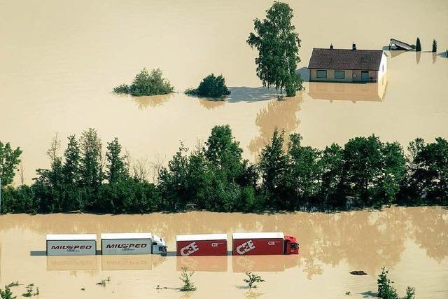 Hochwasser-Lage bleibt brisant –