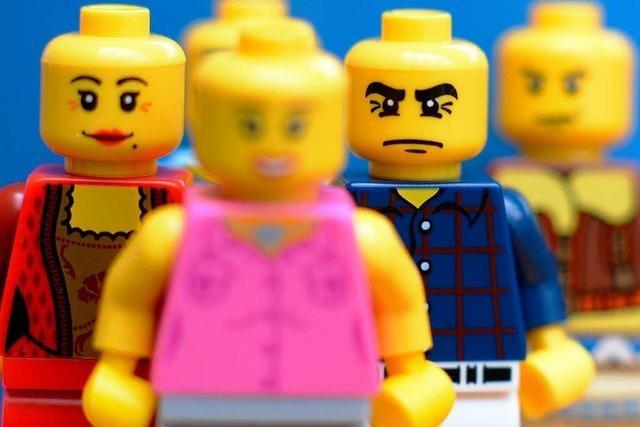 Lego Figuren sehen immer fieser aus