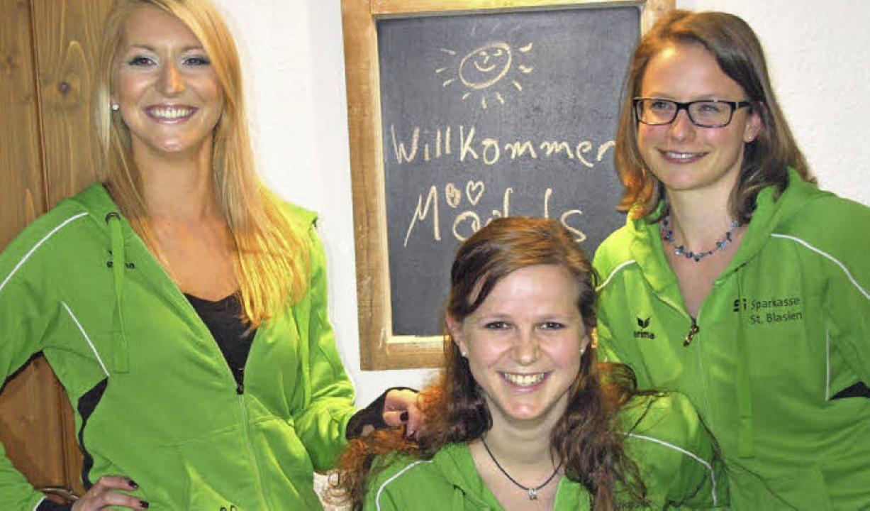 Mit Stefanie Böhler, Anna Baur und Sil... dynamische Übungsleiterinnen gewinnen  | Foto: Karin Stöckl-Steinebrunner
