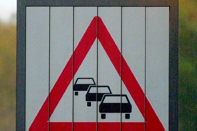 Baustellensommer sorgt in Waldkirch für Staus