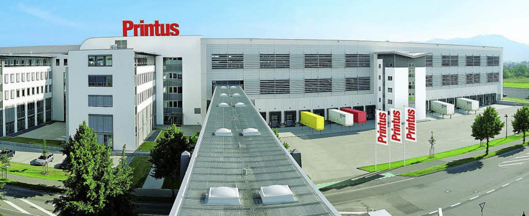 Printus Firmengelände Elgersweier  | Foto: Printus