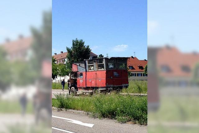 Wagenburgler besetzten das Gutleutmatten-Areal