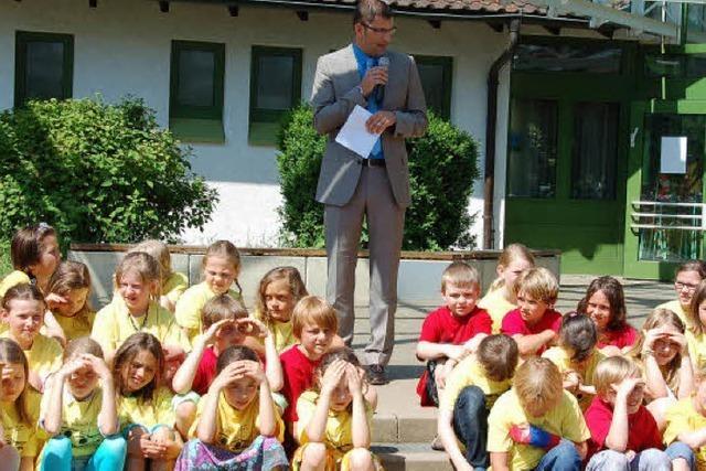 Eine ganze Schule feiert GeburtstagVÖRSTETTEN.