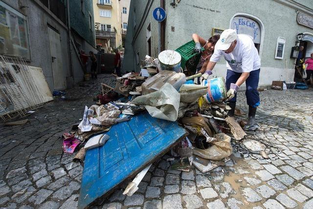 Hochwasser in Passau: Alle packen an