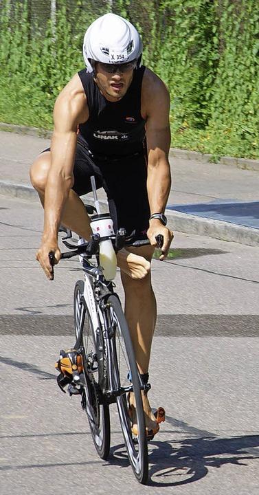 Grund zur Freude hatten der Schweizer ..., der als Zweiter das Ziel erreichte.   | Foto: Miloslavic