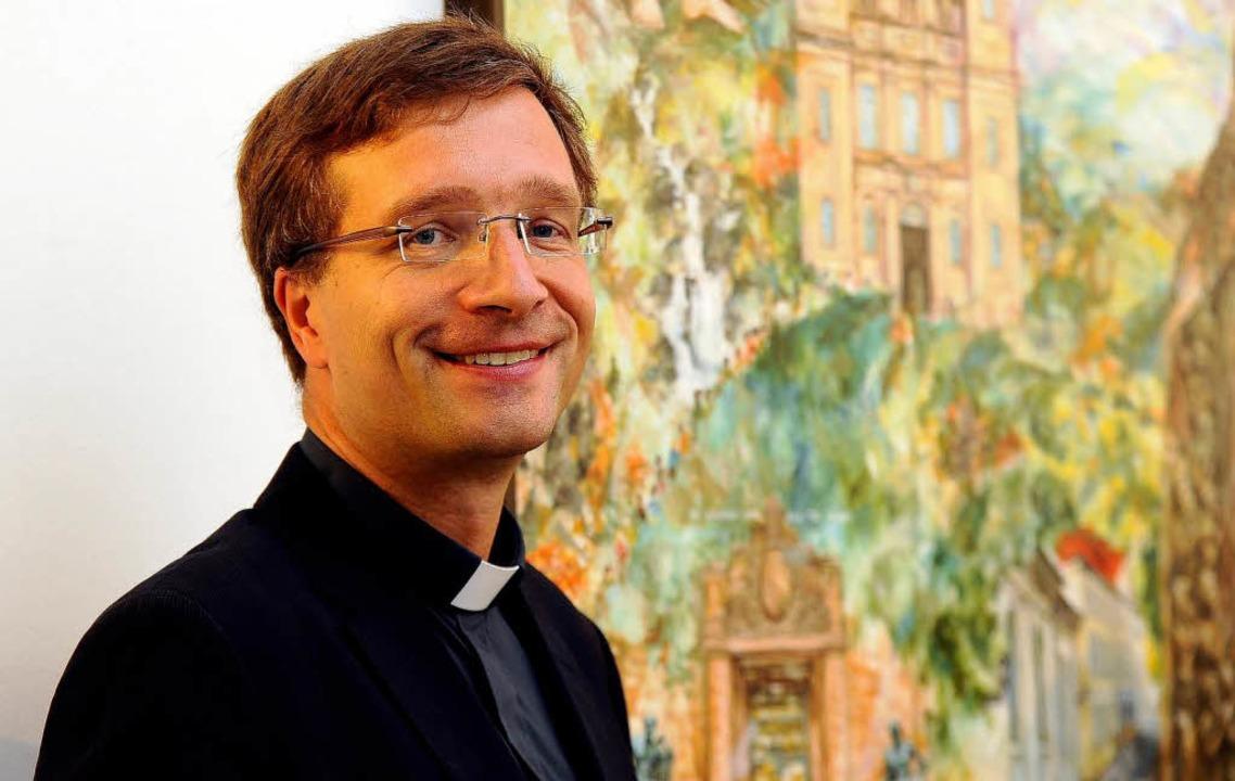 Der neue Weihbischof der Freiburger Erzdiözese: Michael Gerber.  | Foto: Ingo Schneider