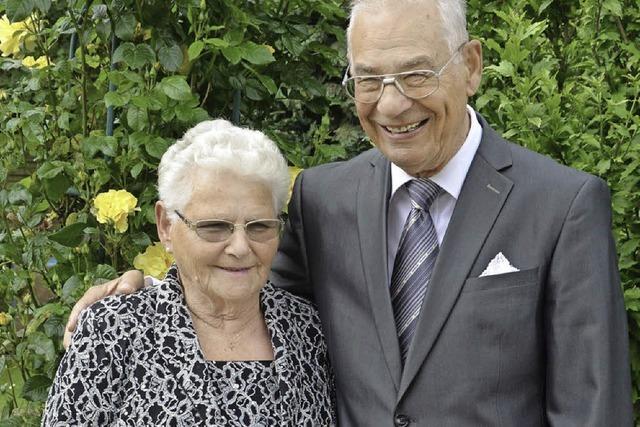 Mit Respekt und Toleranz durch 60 Ehejahre