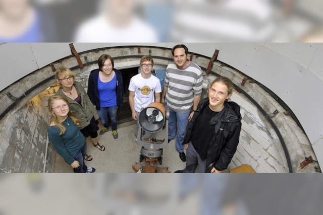 Sternstunden und Mottenmond: Schul-Sternwarte ist wieder in Betrieb
