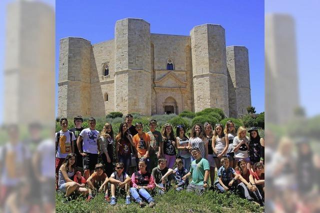 Hans-Thoma-Schüler pflegen die Städtepartnerschaft