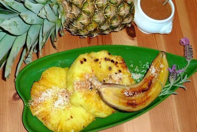 Das Rezept: Liaison von Ananas und Banane