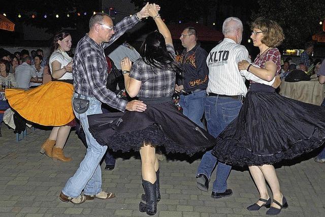 Cowboyfest mit Schwung
