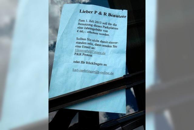 P&R-Parkplatz Titisee: Pendler müssen bald blechen