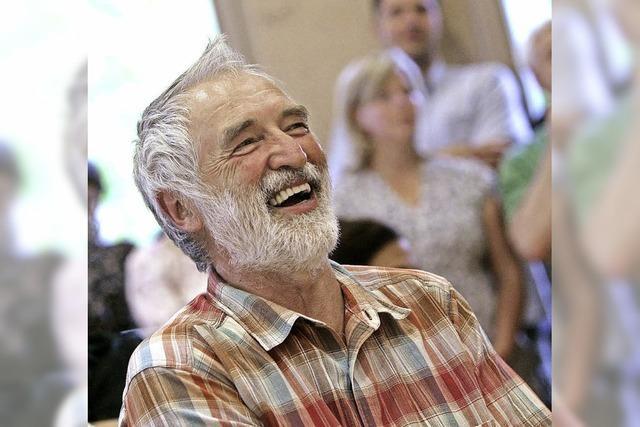 Günter Schlossarek feiert sein 40. Dienstjubiläum an der Werkreal- und Realschule