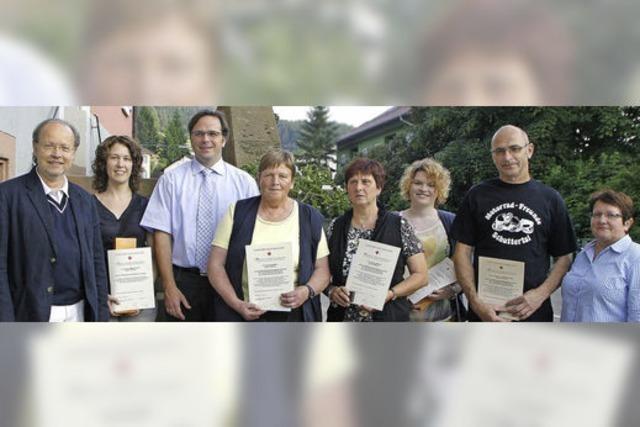 Auszeichnung für Blutspender