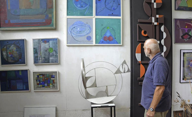 Atelier Thomann, Malerei, Skulptur, Fotografie, Skulpturengarten  | Foto: Sylvia-Karina Jahn