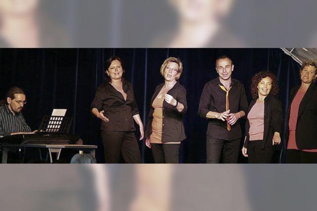 Gefragt war Spontanität auf der Bühne und im Saal