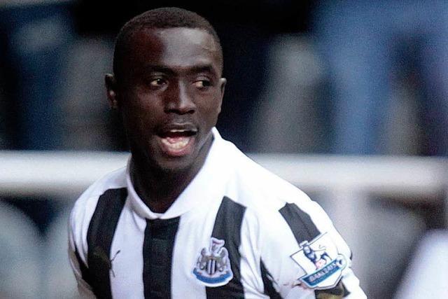 Papiss Demba Cissé will Newcastles neues Trikot nicht tragen