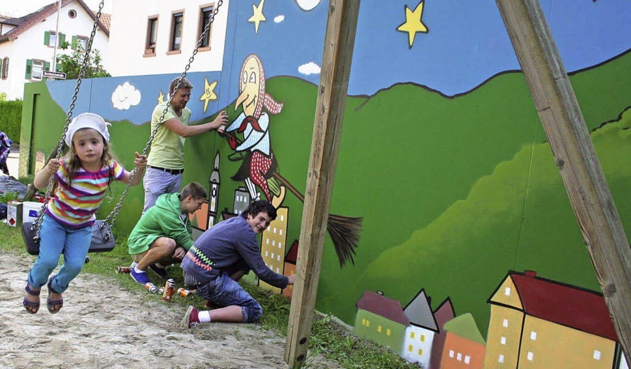 Typisch für Waldkirch und kindgerecht ...t haben, den Boden genommen zu haben.   | Foto: Karin Heiss