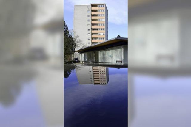 Altes Hochhaus soll weg, fünf neue Gebäude hin