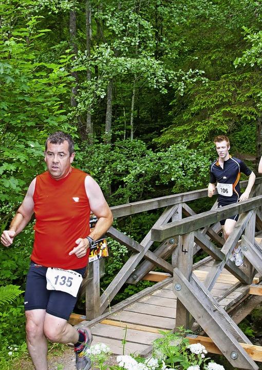 So eben und bequem ist der Weg beim X-Trail-Run eher selten.   | Foto: murst