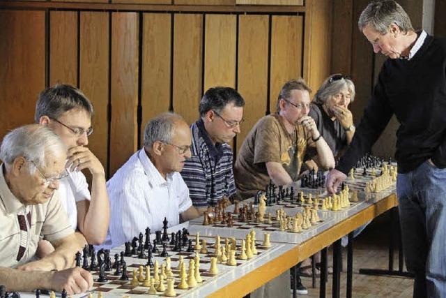 Der Schachmeister war seinen Gegnern meistens einen Zug voraus