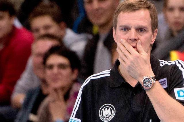 Handball-Bundestrainer Heuberger unter Druck