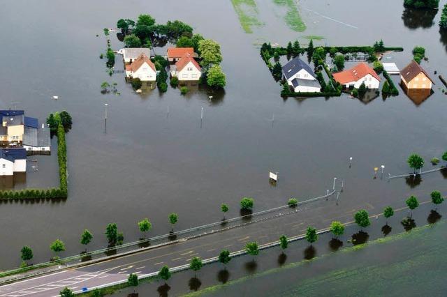 Hochwasser in Süd- und Ostdeutschland