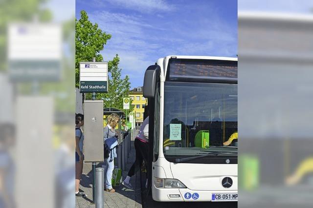 Bus nach Straßburg bald alle neun Minuten