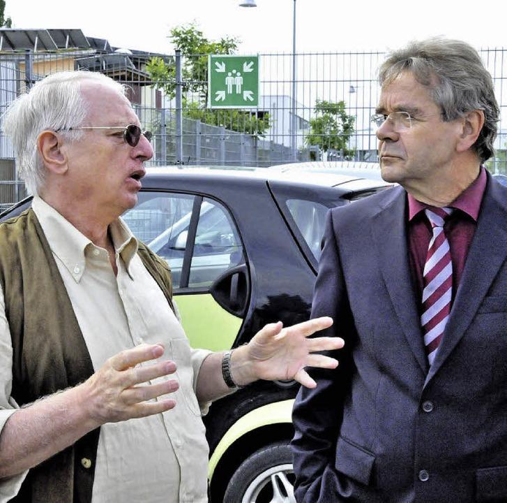 Der Mensch stand im Mittelpunkt, so au...desbehindertenbeauftragten Gerd Weimer    Foto: Markus Zimmermann