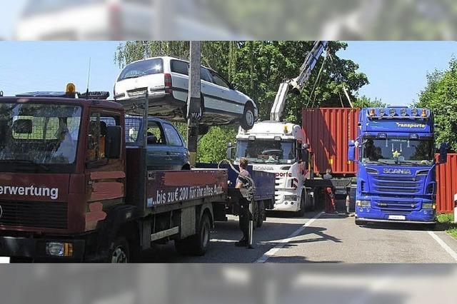 Riskanter Autotransport