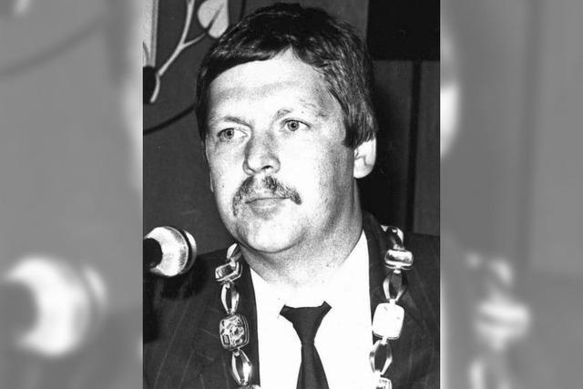Stadtoberhaupt Richard Leibinger ist seit 30 Jahren im Amt