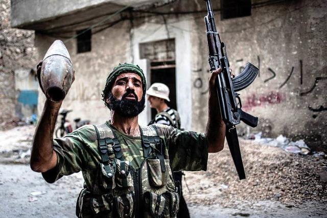 USA helfen Syriens Rebellen mit Waffen