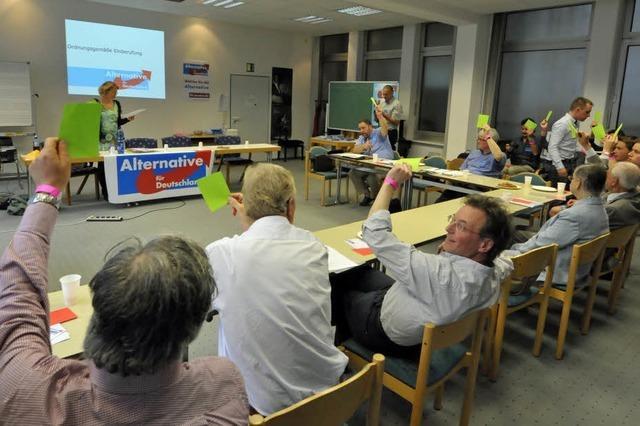 Alternative für Deutschland gründet Freiburger Partei