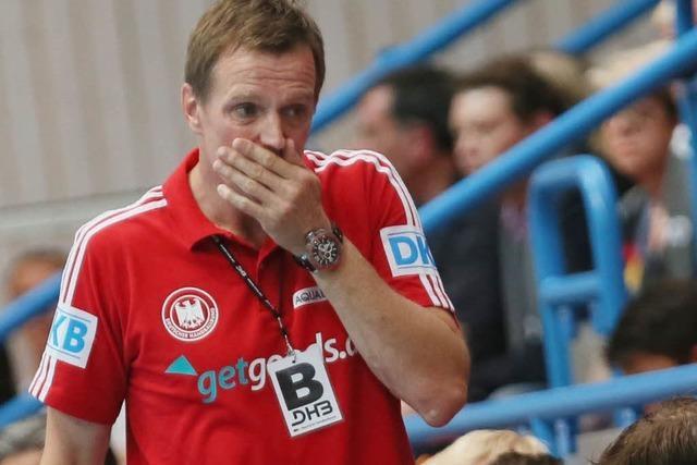 Deutsche Handballer sind praktisch gescheitert