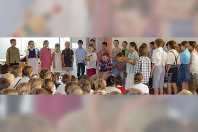 Grundschule in Kirchzarten feiert ihren 100. Geburtstag