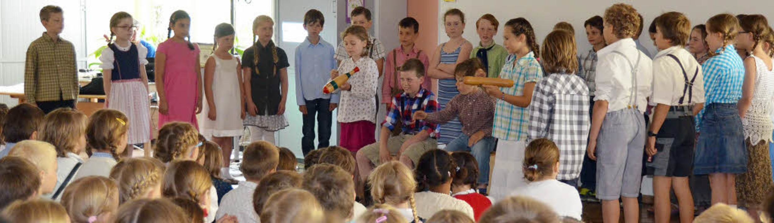100 Jahre Grundschule Kirchzarten  | Foto: Andrea Drescher