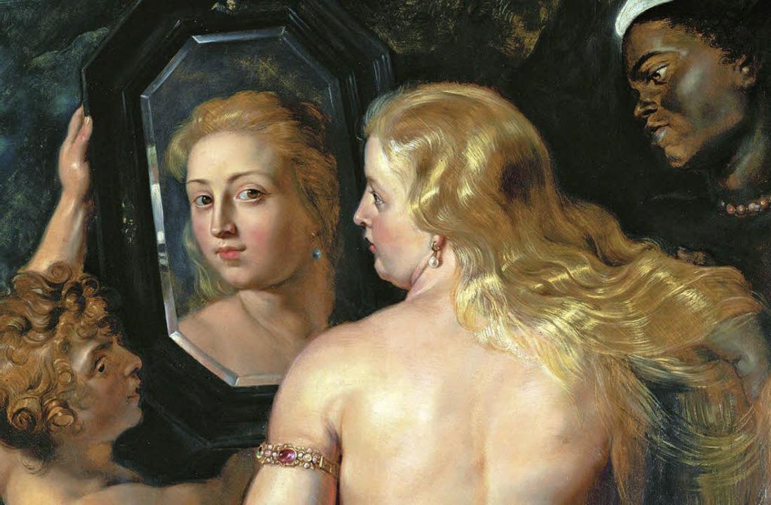 Oh, wie schön bin ich! Rubens' Venus bei der Toilette   | Foto: AKG