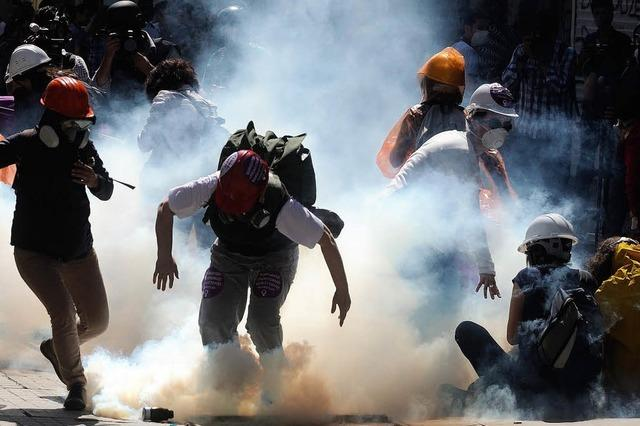 Park-Räumung in Istanbul – Szenen wie im Krieg