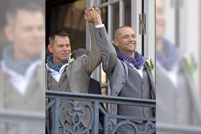 Erstes Straßburger Homopaar heiratet