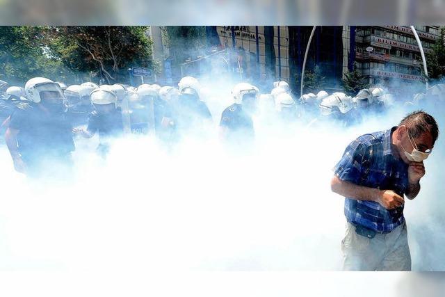 Erdogan droht Demonstranten mit Einsatz der Armee