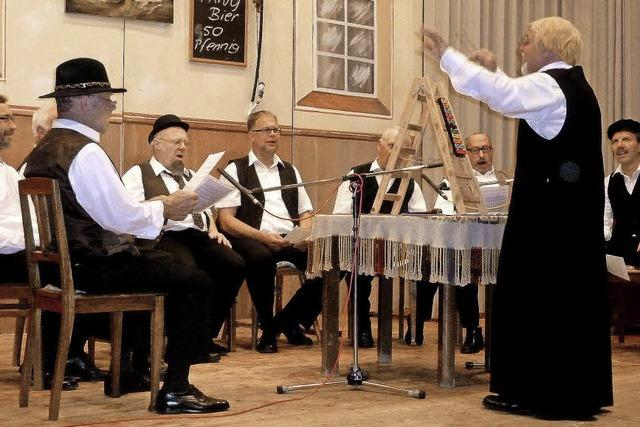 Männergesangverein Untermünstertal feiert 125-jähriges Bestehen