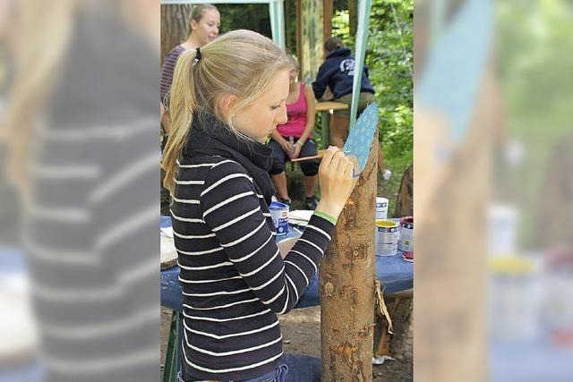 72-STUNDEN-AKTION: Ein schönes Plätzchen für Waldtage