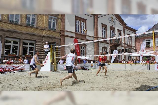 Sperrungen fürs Beachvolleyball-Turnier