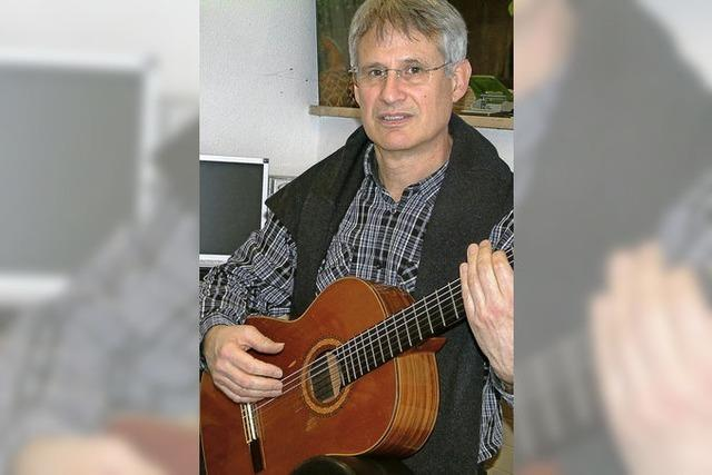 Er liebt die Vielfalt, auch in den Musikstilen