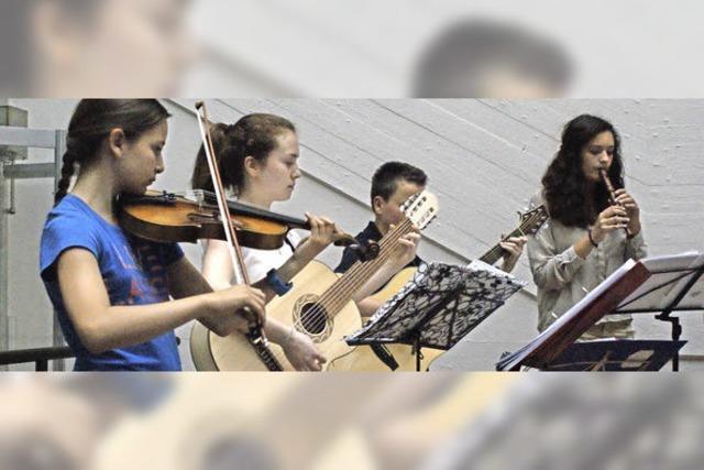 Freude am Musizieren bringt Farbe ins Schulleben