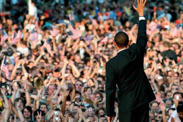 US-Präsident Obama besucht Berlin