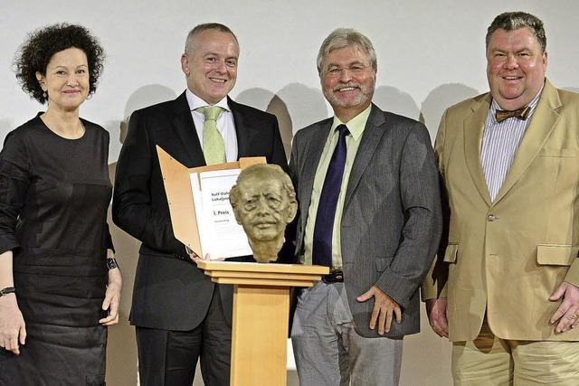 Journalisten mit Dahrendorf-Preis der BZ geehrt